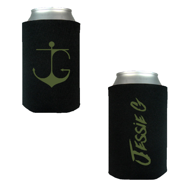 Jessie G Unisex Black Can Coolie